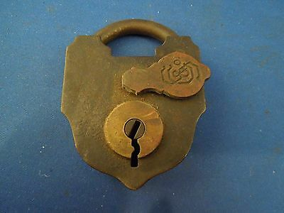 Antique S & Co Sargent & Company New Haven CT Padlock No Key 5