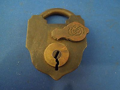 Antique S & Co Sargent & Company New Haven CT Padlock No Key 5