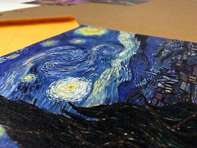 Starry Night Van Gogh Art Print Canvas Small Wall Decor Painting Print 8x10 3