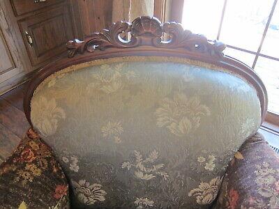 Vintage Carved Mahogany Armchair.(Sort Back) 4