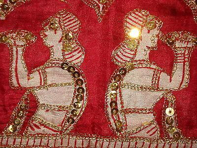 Ladies Indian Pure Silk Saree With Zari Work 10