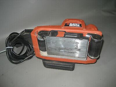Powerplus 1010W Bandschleifer Bandschleifmaschine Schleifer Staubsack