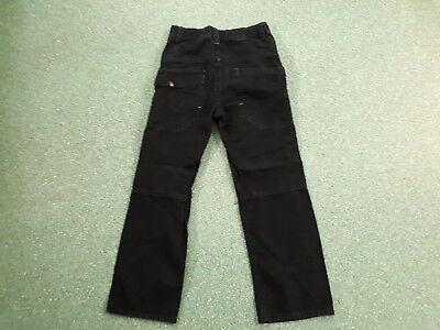 "Next Relaxed Jeans Waist 26"" Leg 24"" Black Faded Boys 10Yrs Jeans 3"