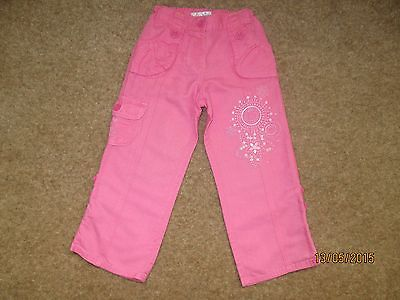 Girls Summer Trousers / T-Shirts Age 2-3 Years NEXT / M&S 2