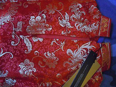 Cheongsam/qipao (Abito rosso e dorato tradizionale cinese) 6