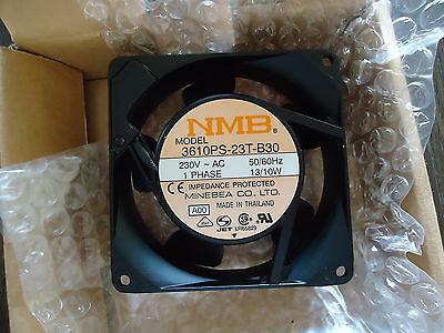 NEW NMB COOLING FAN M/N 3610PS-23T-B30 230V, AC , 1 PH. 50/60 Hz. 13/10W