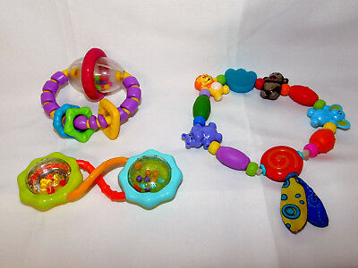Infant Toy Lot of 14 Developmental Infant Toys Sensory Baby Teether Loveys 5