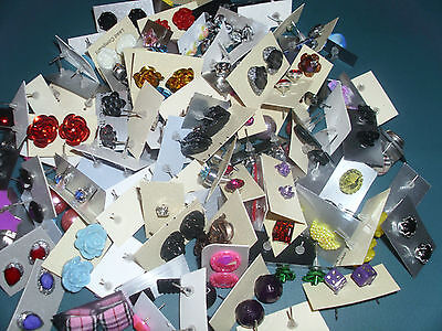 s**SPECIAL OFFER ** WHOLESALE LOT STUD EARRINGS 50 PAIRS 5