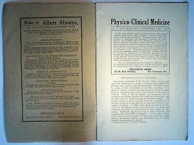 Abrams Quack Medical Journals - Digital Copies - Physico Clinical Medicine 4