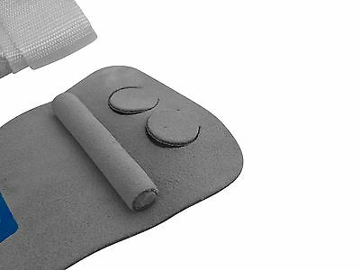 gymadvisor junior leather UNEVEN BAR hand guards, wide grip hand palm grips