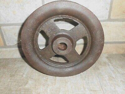 altes Eisenrad  Gusseisen Anrtiebsrad  D= 250 mm.     Nr.562 4