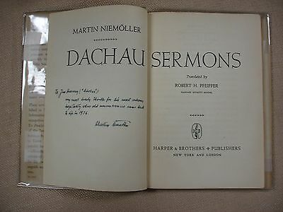 Dachau Sermons - 1946 - Inscribed -WVB-9 3