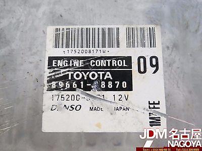 01-03 TOYOTA PREVIA 3.0L DOHC V6 VVTI A//T ECU #89666-28181 JDM 1MZ