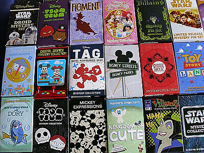 Disney * 5 FOR $50 SPECIAL * New & Sealed 2-Pin Mystery Boxes 2