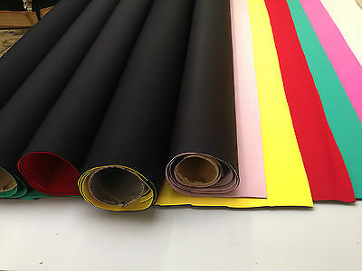 NEOPRENE SHEETS WETSUIT DIVE NYLON MATERIAL SECTIONS 3MM AND 2.5MM THICK NEW