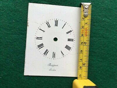 White Dial RAPPORT LONDON Clock Dial 3