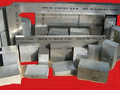 Aluminum Plate  Assortment 40 Pounds Drops Scrap  Quality Block Bar  QC 10 stock 2
