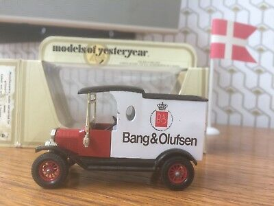 B&O Bang & Olufsen vintage Matchbox Y12C SUPER RARITÄT / UNIQUE!!! 3