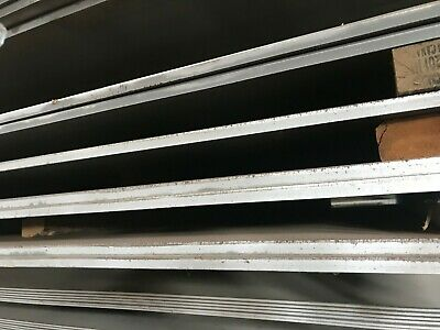 """3/8"""" .375"""" Hot Rolled Steel Sheet Plate 5""""X 6"""" Flat Bar A36 4"""