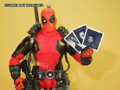 Deadpool 1//12 scale Custom Hero Flakes and Feiges Famous Pizza Boxes