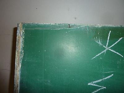 "antique ORIGINAL circa 1920's schoolhouse SLATE chalkboard 72.5 x 36"" UTICA, NY 3"