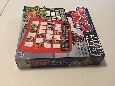 Guess Who? - Star Wars Edition - Hasbro - COMPLETE - Board Game - Nice! 8