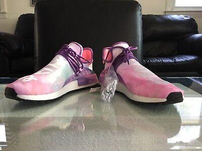 Pharrell Williams X Adidas Human Race Nmd Hu Holi Festival Pink
