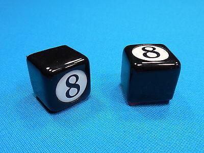 1 Of 5 ( 2 ) Billiard Pool Table Cue Chalk Holder 8 Ball Design Masteru0027s  Chalk