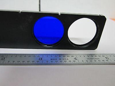 Microscope Leitz Germany Slide Filter Bg12 Dark Blue  Optics #K9-04 4