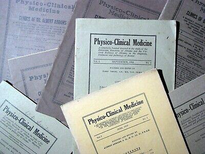 Abrams Quack Medical Journals - Digital Copies - Physico Clinical Medicine 3