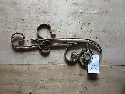 Antique Victorian Iron Gate Window Garden Fence Architectural Salvage #920 3