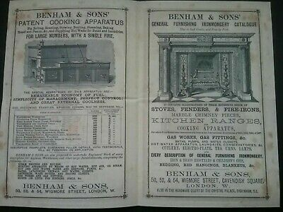 Victorian Adverts Booklet ***(See Photo's) ***(See Description For Details)*** 7