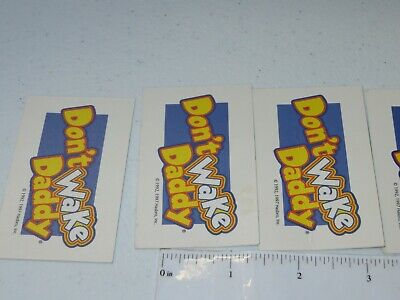 2007 Don't Wake Daddy Board Game Lot of 7 Cards Only Hasbro 5