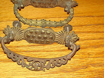 Two (2) Antique Cabinet Handles 2