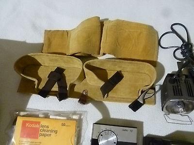 Vintage Nikon Lot Camera Bag Focusing Screen G2 K Filters A2 52Mm Polar 82A F E2