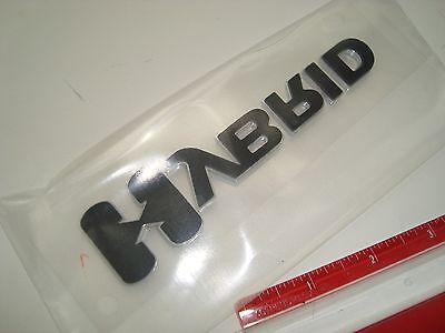 OEM HYBRID EMBLEM CHEVY MALIBU SILVERADO SIERRA ESCALADE VUE  25798870 GM GMC