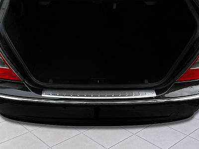 Edelstahl Ladekantenschutz für Mercedes E-Klasse W211 Limousine 2002-2009