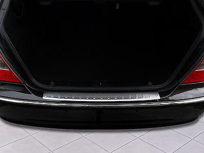 Ladekantenschutz für Mercedes E-Klasse W211 Limousine 2002-2009 Edelstahl