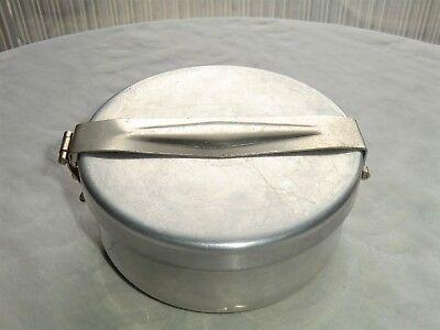 Wolfsiffer´s Pulver-Misch-Dose rund komplett mit 3 Kugeln aus Aluminium 5