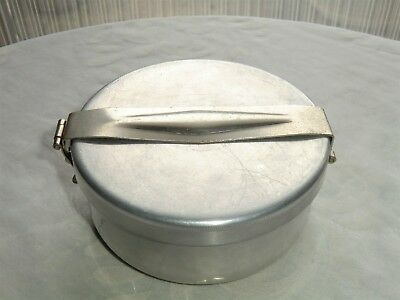 Wolfsiffer´s Pulvermisch-Dose rund komplett mit 3 Kugeln aus Aluminium 5