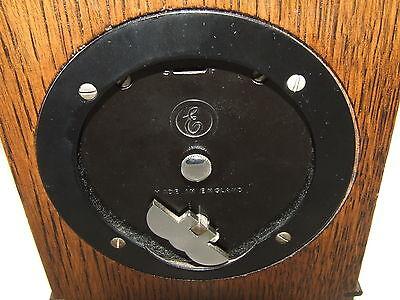 Oak with Blind Fretwork Bracket Mantel Clock by ELLIOTT LONDON 11