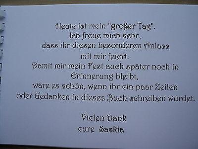Gästebuch/Fotoalbum, Erinnerung, Konfirmation/Kommunion/Taufe, rosa/pink, DinA5