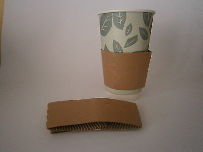 Coffee Cup Sleeves 100. 8 Oz 4