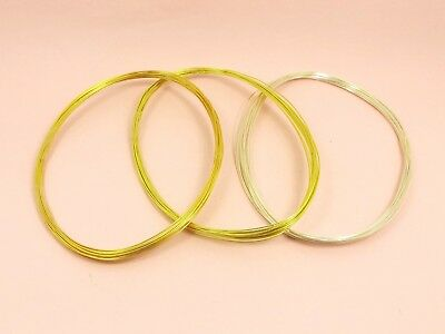 5M x Tarnish Resistant COPPER Brass Artistic Craft Beading WIRE DIY 0.3mm - 1mm 2