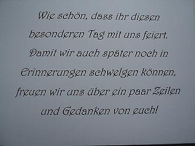 Hardcover-Gästebuch/Fotoalbum, Hochzeit, Hochzeitsbuch, creme/lila/silber, DinA5