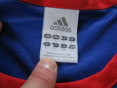 photos officielles 1ee25 ae82f MAILLOT EQUIPE DE France Femme Adidas Vintage Jersey Football - L