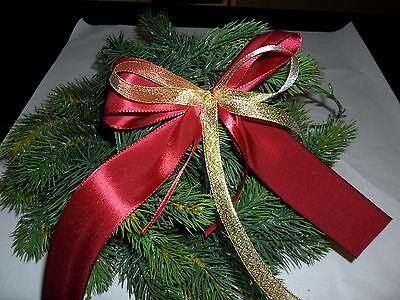 deko schleifen rot gold weihnachtsbaum adventskranz geschenke eur 1 49 picclick de. Black Bedroom Furniture Sets. Home Design Ideas