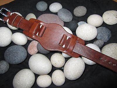 18mm-20mm-22mm Correa Reloj cuero BUND Pulsera Leather Watch Band Strap 4
