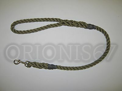 Extra Heavy Duty Dog Clip Lead 14 mm Rope Various Sizes & Colours Handmade 7