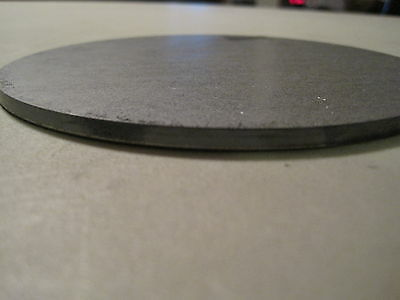 """1//8/"""" Steel Plate Circle Disc Shaped .125/'/' A36 Steel 5.25/"""" Diameter Round"""